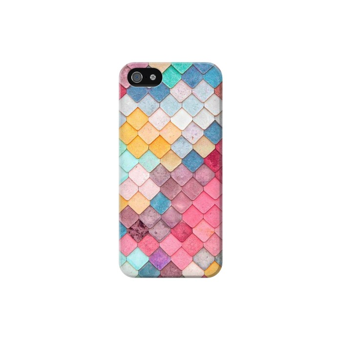 Printed Candy Minimal Pastel Colors Iphone 5 Case