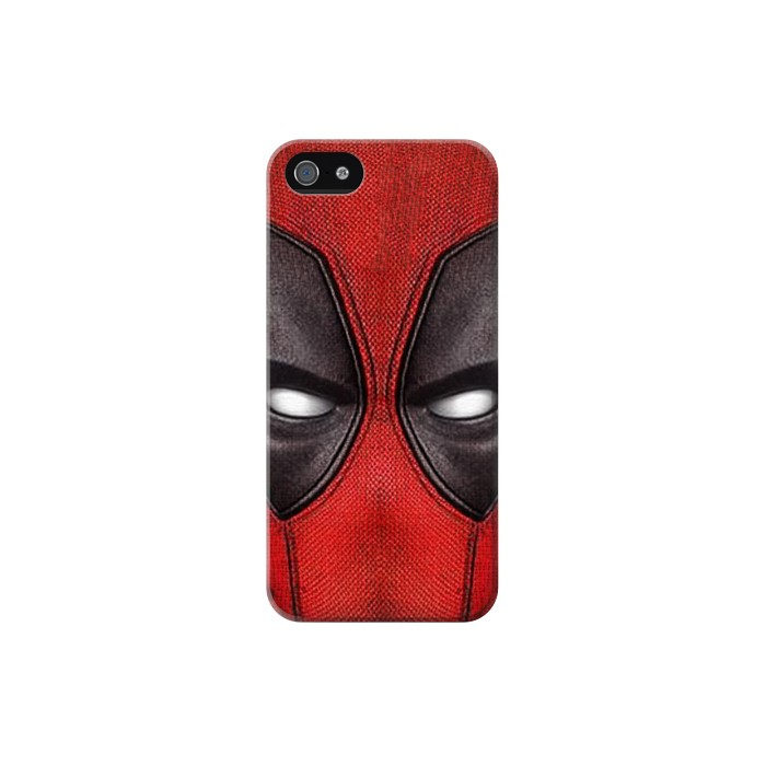 Printed Deadpool Mask Iphone 5 Case