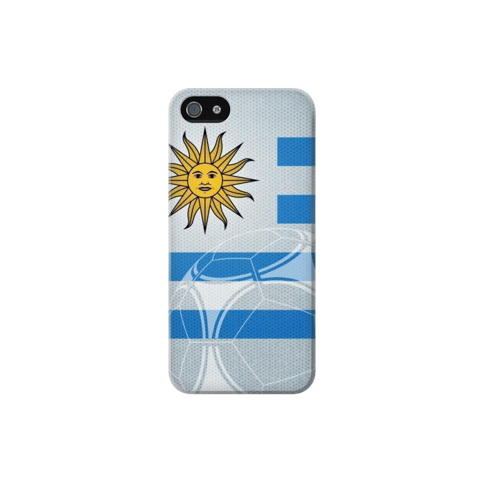 Printed Uruguay Football Flag Iphone 5 Case