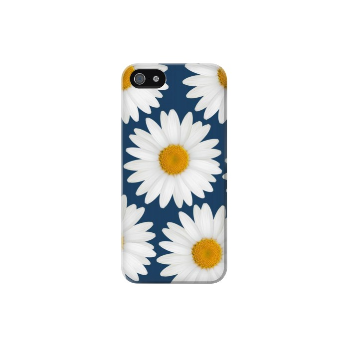 Printed Daisy Blue Iphone 5 Case
