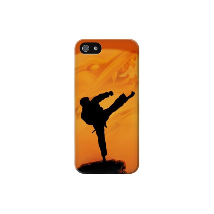 Printed Kung Fu Karate Fighter Iphone 5 Case