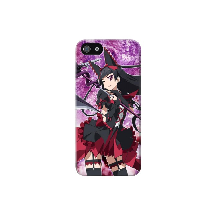 Printed Gate Rory Mercury Iphone 5 Case