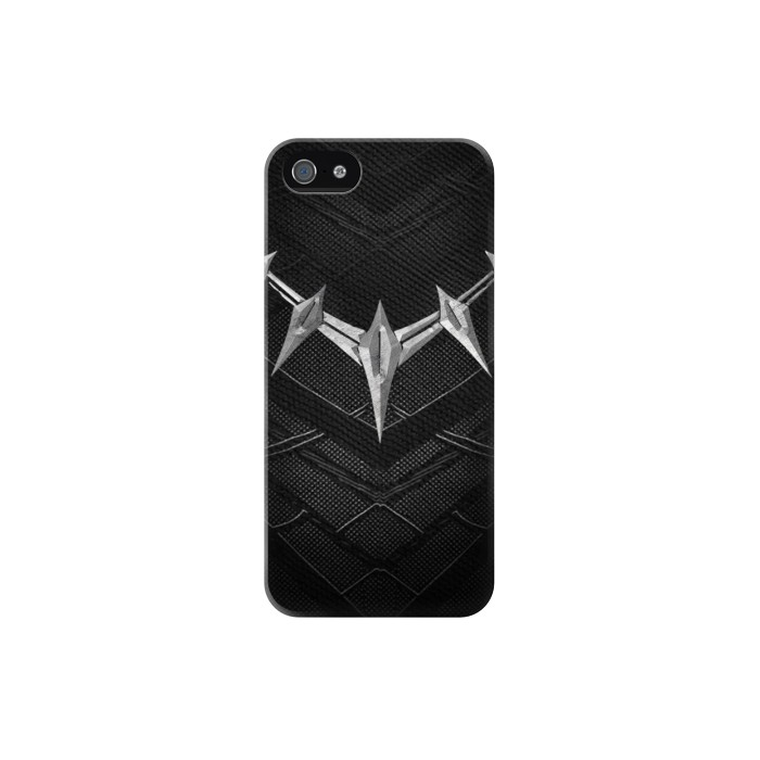 Printed Black Panther Inspired Costume Necklace Iphone 5 Case