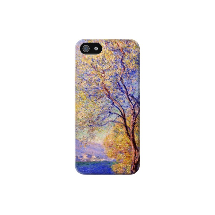 Printed Claude Monet Antibes Seen from the Salis Gardens Iphone 5 Case