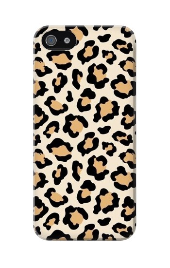 Printed Fashionable Leopard Seamless Pattern Iphone 5 Case