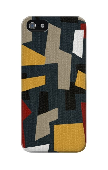 Printed Abstract Fabric Texture Iphone 5 Case