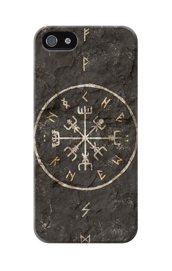Printed Norse Ancient Viking Symbol Iphone 5 Case