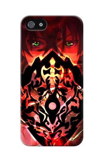 Printed The Rising Of The Shield Hero Curse Shield Iphone 5 Case