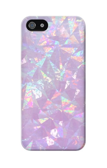 Printed Iridescent Holographic Photo Printed Iphone 5 Case