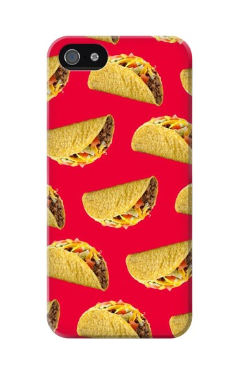 Printed Mexican Taco Tacos Iphone 5 Case