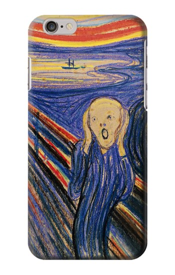 Printed Edvard Munch The Scream Iphone 6 Case