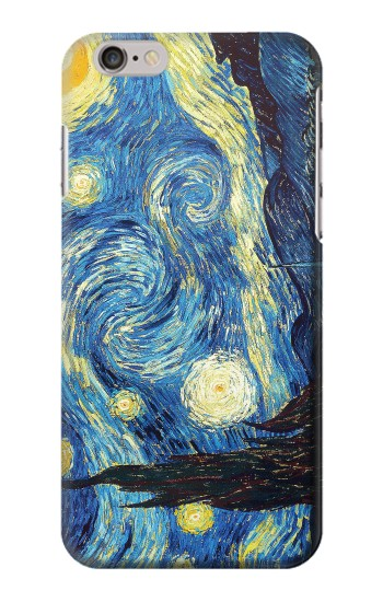 Printed Van Gogh Starry Nights Iphone 6 Case