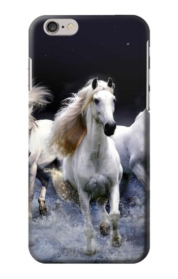 Printed White Horse Iphone 6 Case