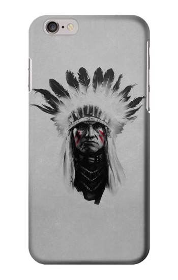 Printed Indian Chief Iphone 6 Case