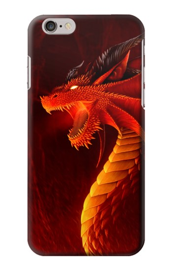 Printed Red Dragon Iphone 6 Case
