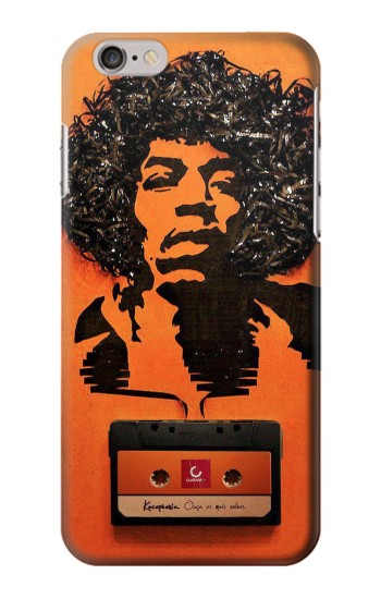 Printed Cassette tape Art Jimi Hendrix Iphone 6 Case