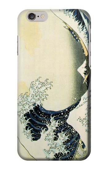 Printed Katsushika Hokusai The Great Wave of Kanagawa Iphone 6 Case