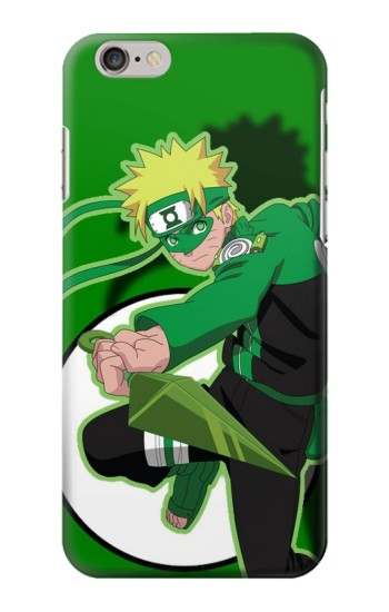Printed Naruto Green Iphone 6 Case