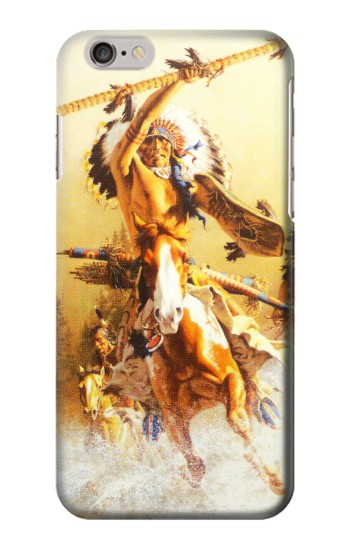 Printed Red Indian Warrior Iphone 6 Case