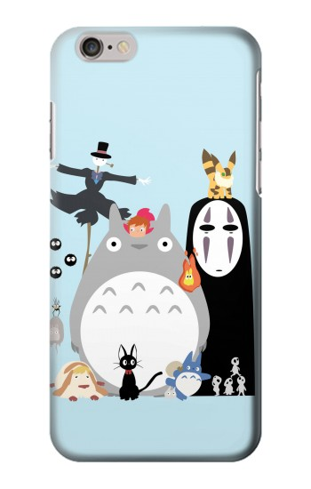 Printed Totoro Mononoke Iphone 6 Case