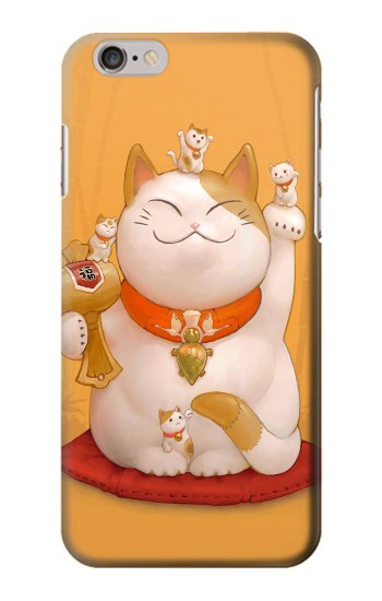 Printed Maneki Neko Lucky Cat Iphone 6 Case
