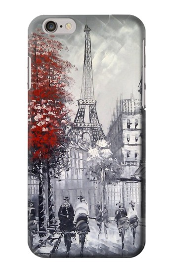 Printed Eiffel Painting of Paris Iphone 6 Case
