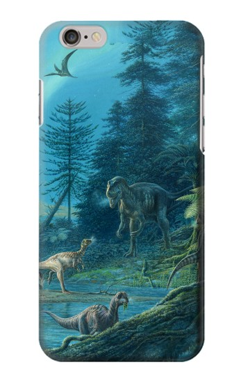 Printed Jurassic Park Dinosaurs Iphone 6 Case
