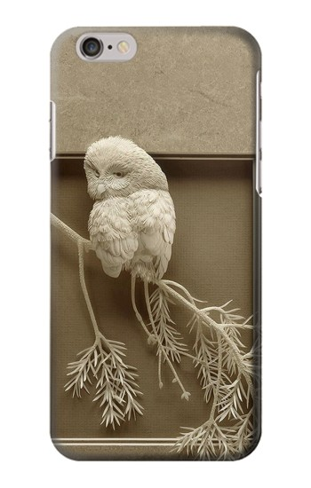 Printed Paper Sculpture Owl Iphone 6 Case