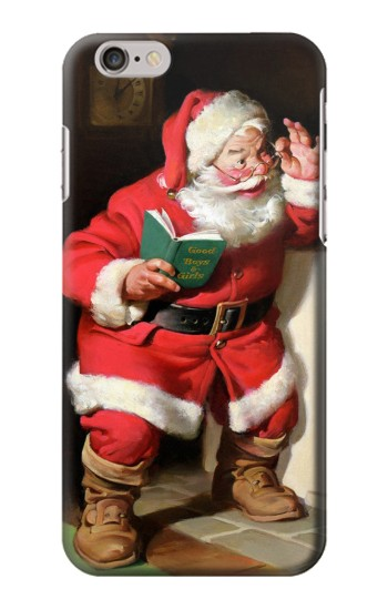 Printed Santa Claus Merry Xmas Iphone 6 Case