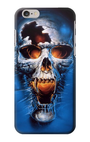 Printed Vampire Skull Iphone 6 Case