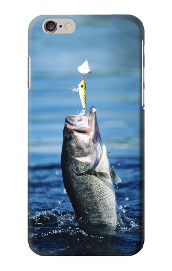 Printed Bass Fishing Iphone 6 Case
