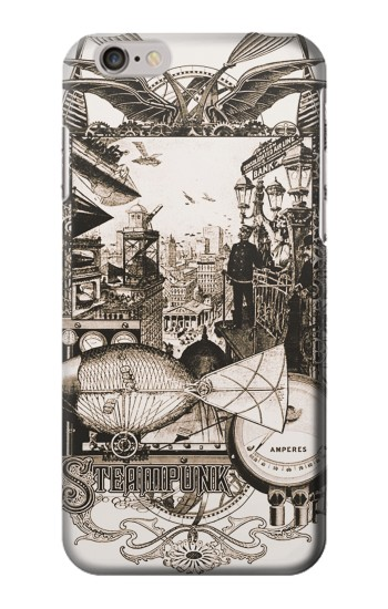 Printed Steampunk Drawing Iphone 6 Case