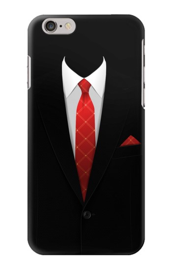 Printed Black Suit Iphone 6 Case