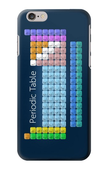 Printed Periodic Table Iphone 6 Case