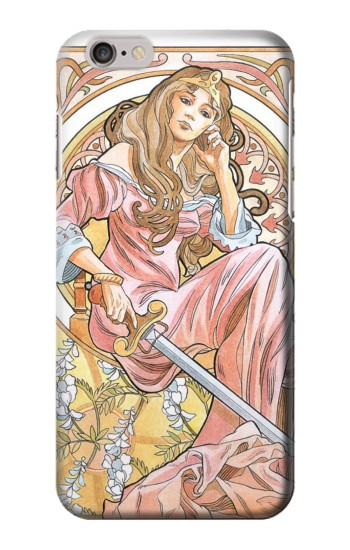 Queen of Swords Tarot Iphone6 Case