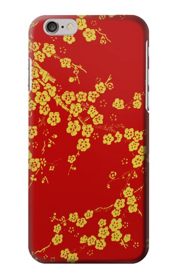 Cherry Blossoms Chinese Silk Graphic Printed Iphone6 Case