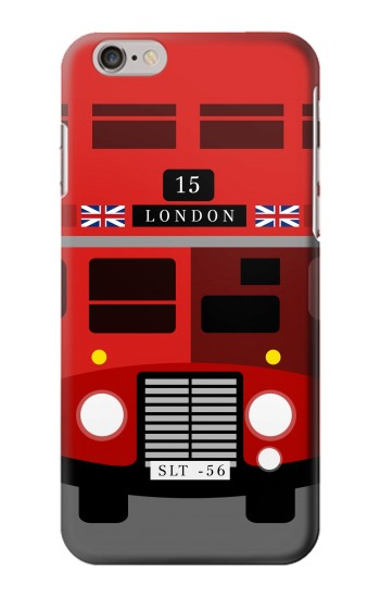 England British Double Decker Bus Minimalist Iphone6 Case