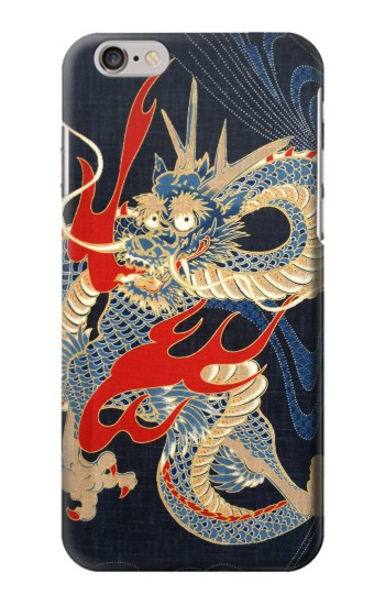 Printed Japan Dragon Art Iphone 6 Case
