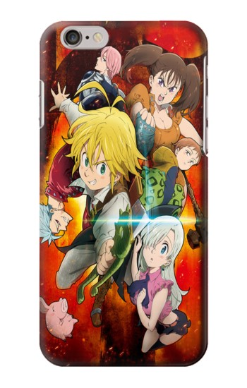 Nanatsu no Taizai The Seven Deadly Sins Wrath Dragon Meliodas Iphone6 Case