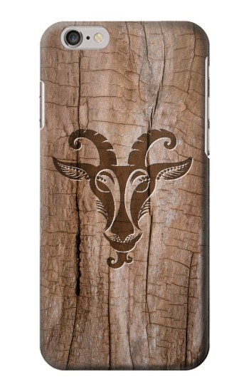 Printed Goat Wood Graphic Printed Iphone 6 Case