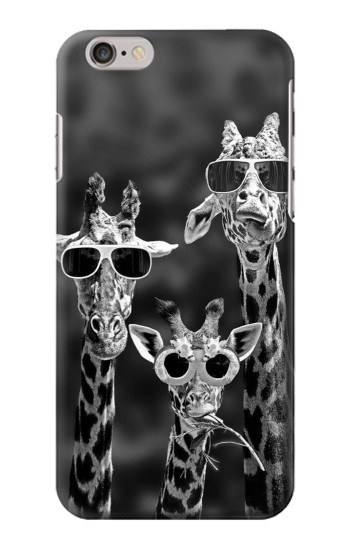 Printed Giraffes With Sunglasses Iphone 6 Case