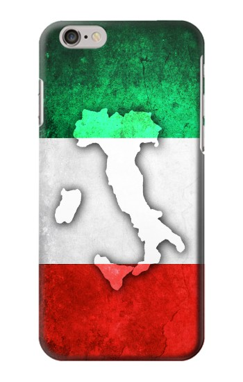 Printed Italy Flag Iphone 6 Case