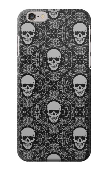 Printed Skull Vintage Monochrome Pattern Iphone 6 Case