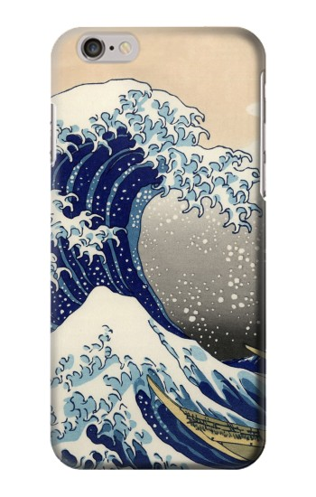 Printed Katsushika Hokusai The Great Wave off Kanagawa Iphone 6 Case