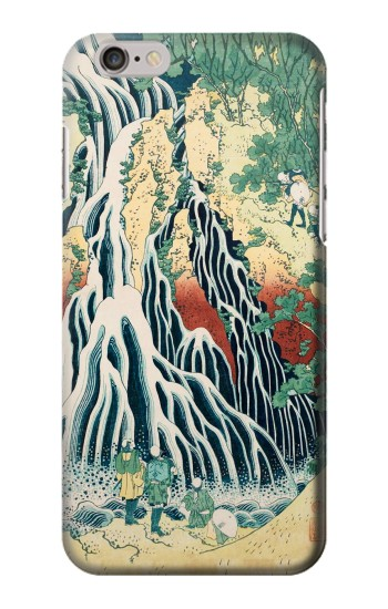 Printed Kirifuri Waterfall at Kurokami Mountain in Shimotsuke Iphone 6 Case