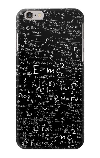 Printed Mathematics Physics Blackboard Equation Iphone 6 Case