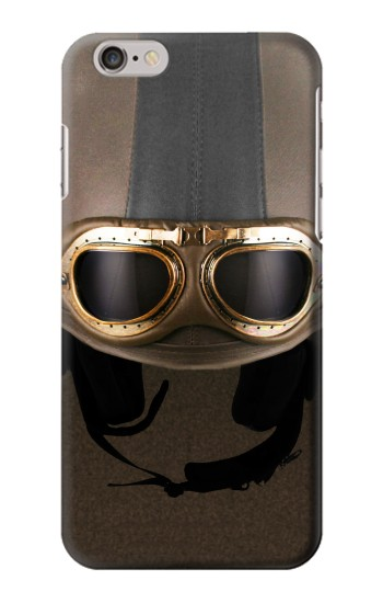 Printed Vintage Brown Goggles Helmet Iphone 6 Case