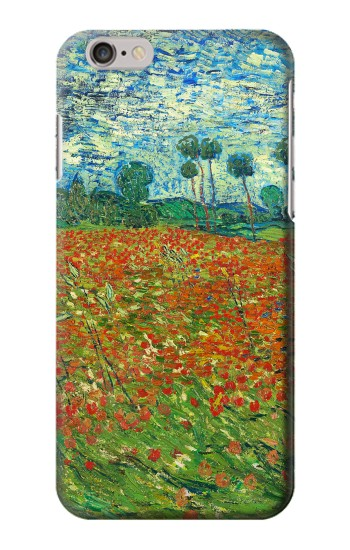 Printed Field Of Poppies Vincent Van Gogh Iphone 6 Case