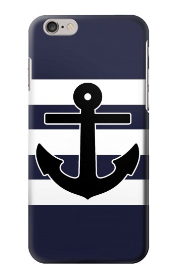 Printed Anchor Navy Iphone 6 Case