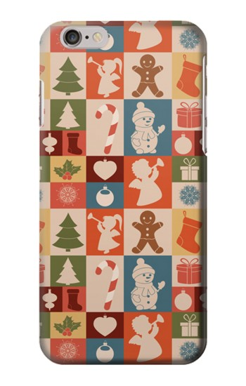 Printed Cute Xmas Pattern Iphone 6 Case